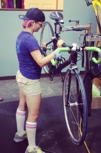bike maintenance cropped